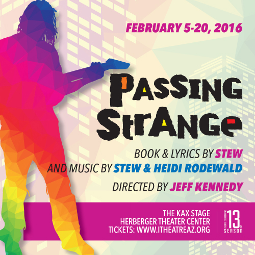 Passing Strange, part of the 2015-2016 season