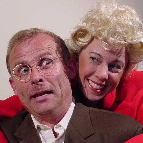 A scene from a show in the 2003-2004 season