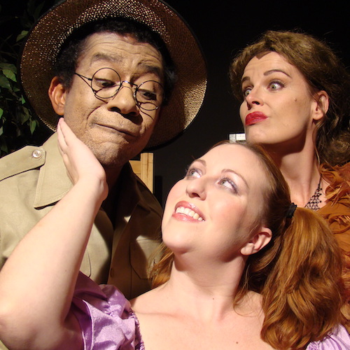 A scene from a show in the 2007-2008 season